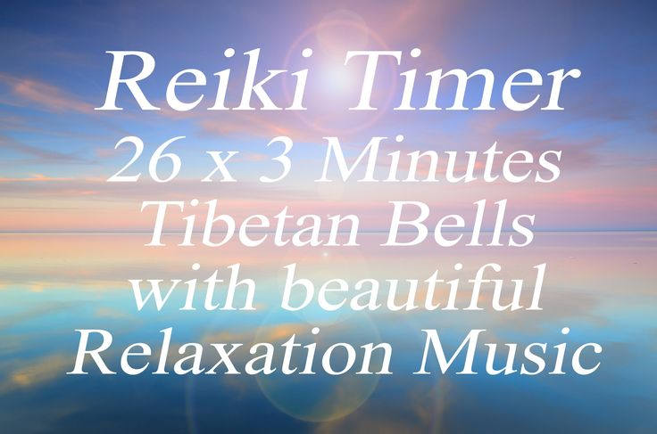Reiki Timer - Reiki Music with 26x3 minute tibetan bells - Light,  Relax...