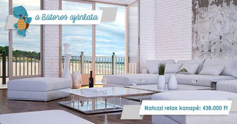 MINIMALISTA MAXIMALIZMUS  Egyszerű, letisztult, extra kényelmes kanapé relax-funkcióval a még kényelmesebb pihenésért. Jólhangzik? Akkor kattints ide: http://butoros.com/view_advert-206 #használtbútor #apróhirdetés  (Figyelem! A kép illusztráció, a meghirdetett bútordarabról fényképet a megadott linken találhatsz.)