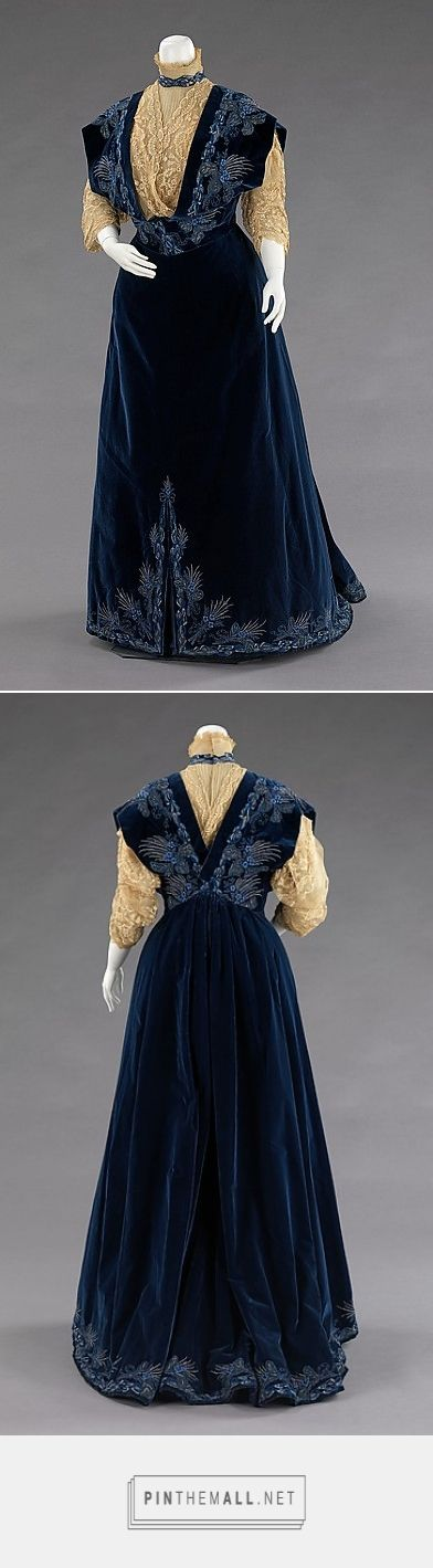 Evening dress by House of Worth 1898 French   The Metropolitan Museum of Art
