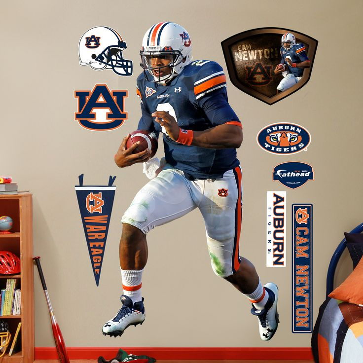 Cam Newton, Auburn Tigers....ohhh yes! This is on Cooper's Christmas list this year! Lol