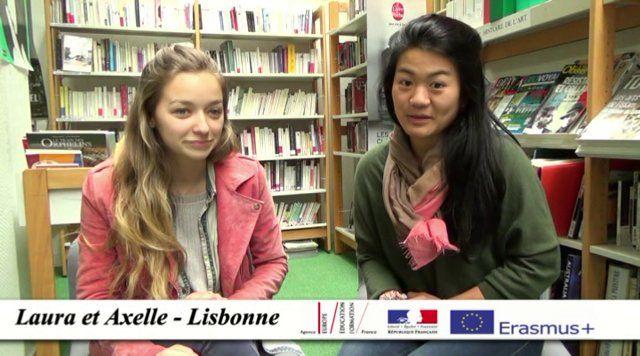 Laura et Axelle ont validé leur 1er semestre de DCG3 ( Diplôme de Comptabilité et de Gestion) à l'université de Lusiada de Lisbonne au Portugal dans le cadre du programme ERASMUS.