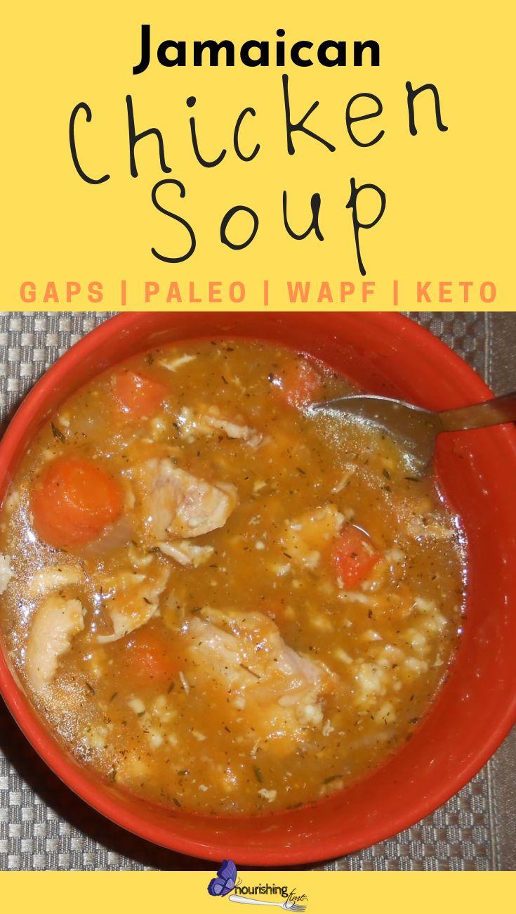 jamaican chicken soup  recipe  jamaican chicken