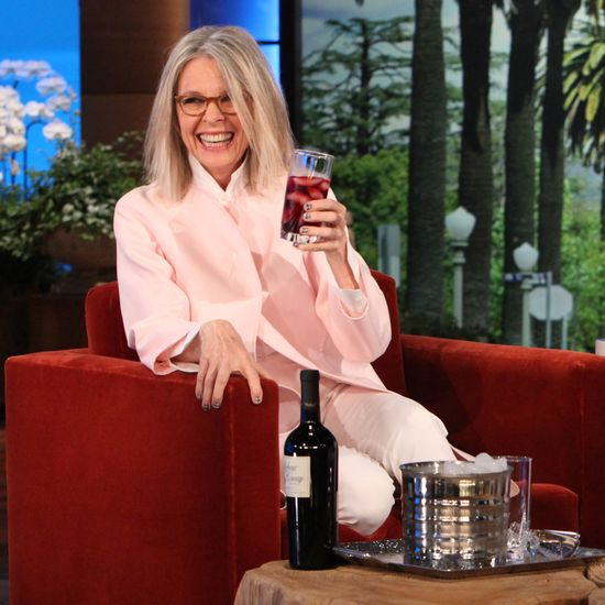 Diane Keaton on The Ellen DeGeneres Show | Video | POPSUGAR Celebrity