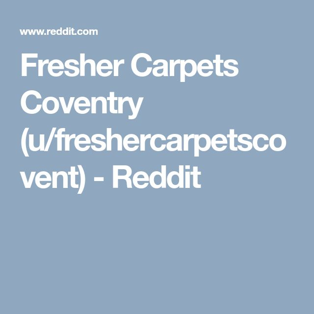 28 best Fresher Carpets Coventry Carpet Cleaning ...