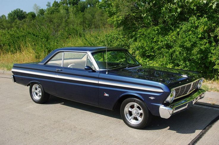 Blue 1965 Ford Falcon Futura Childhood Memory Bank