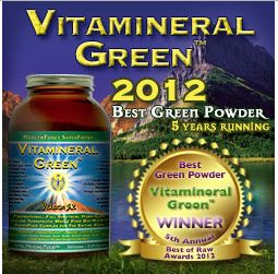 Vitamineral Green by Health Force Nutritionals | Raw, vegan superfood of exceptional quality ingredients & taste (and I've tried them all).  BellaRusticaDesign.com