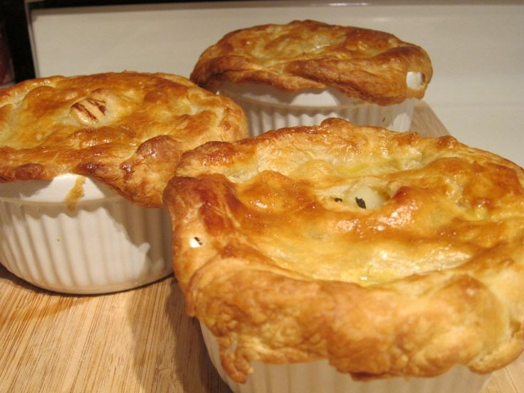 I told you I'm a meat and potatoes girl. I wasn't lying. I'd be willing to bet when most of you think of chicken pot pie you'd probably think of a Banquet chicken pot pie t…