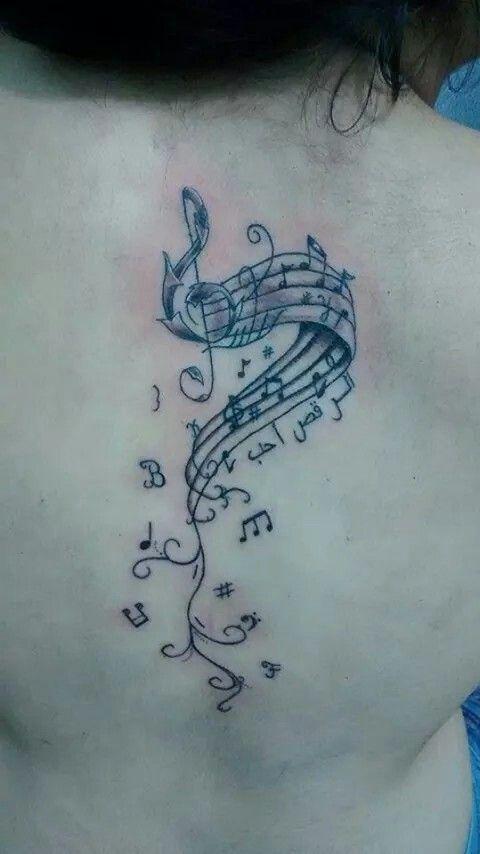 Tattoo nota musical