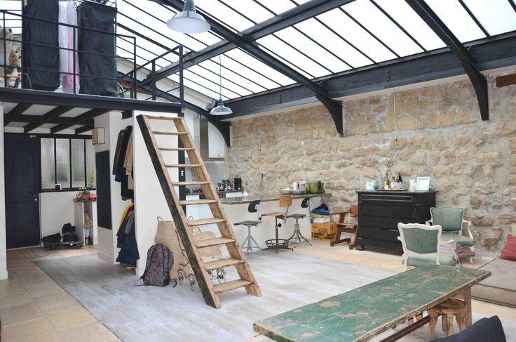 1000 id es sur le th me conversion de maison de grange sur pinterest maison - Meubles grange paris ...