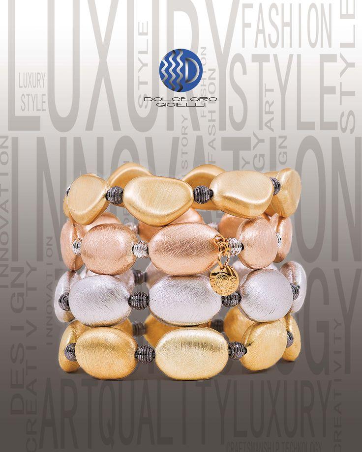 Handmade Italian Jewelry by Dolceoro, Fun to Stack!!!