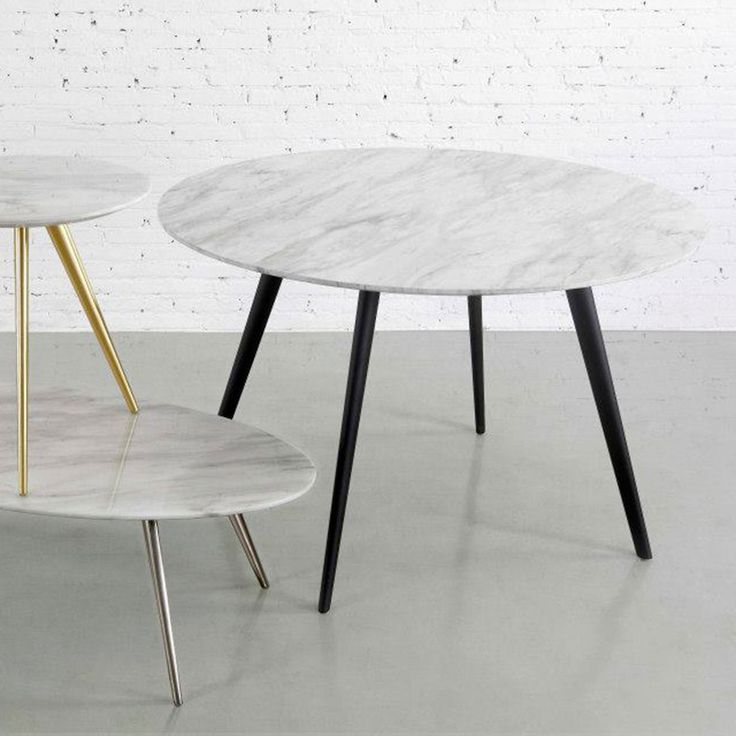 Airfoil Round Table range by m.a.d. Available from Remodern.