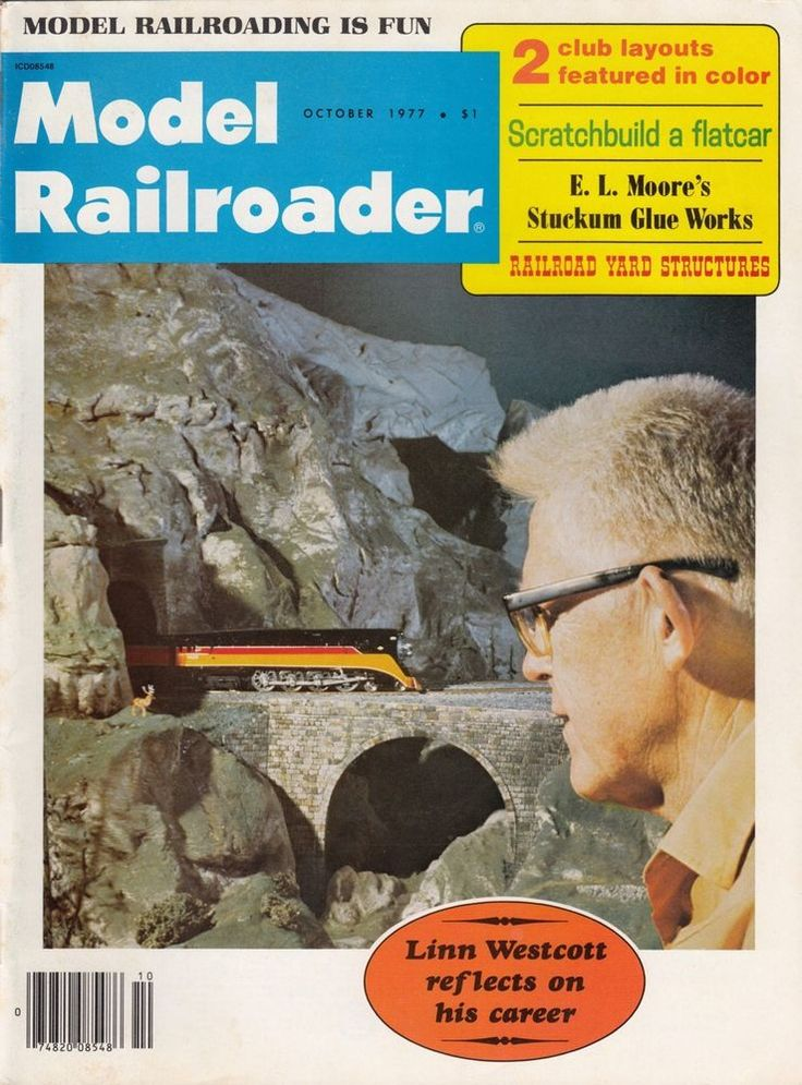 October 1977 Model Railroader Magazine Pennsylvania Railroad Flatcar Yard Struct #ModelRailroader