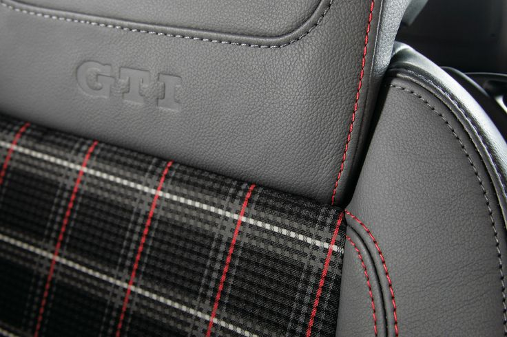 Plaid Car Seats
