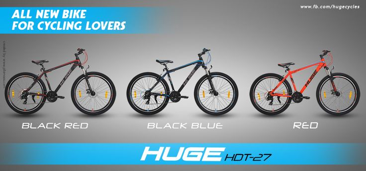 #Huge presents an all new range among #MountainBike series, #HDT27 with three exclusive colors. For any query : 9041021821