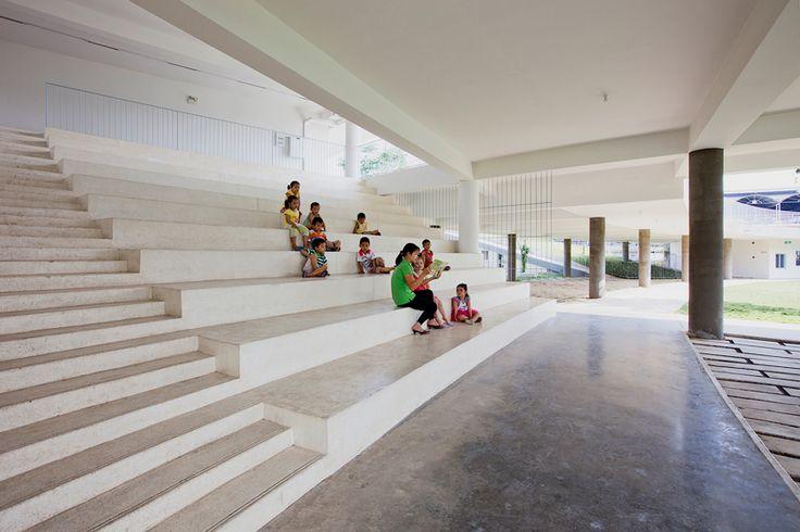 vo trong nghia architects farming kindergarten vietnam designboom