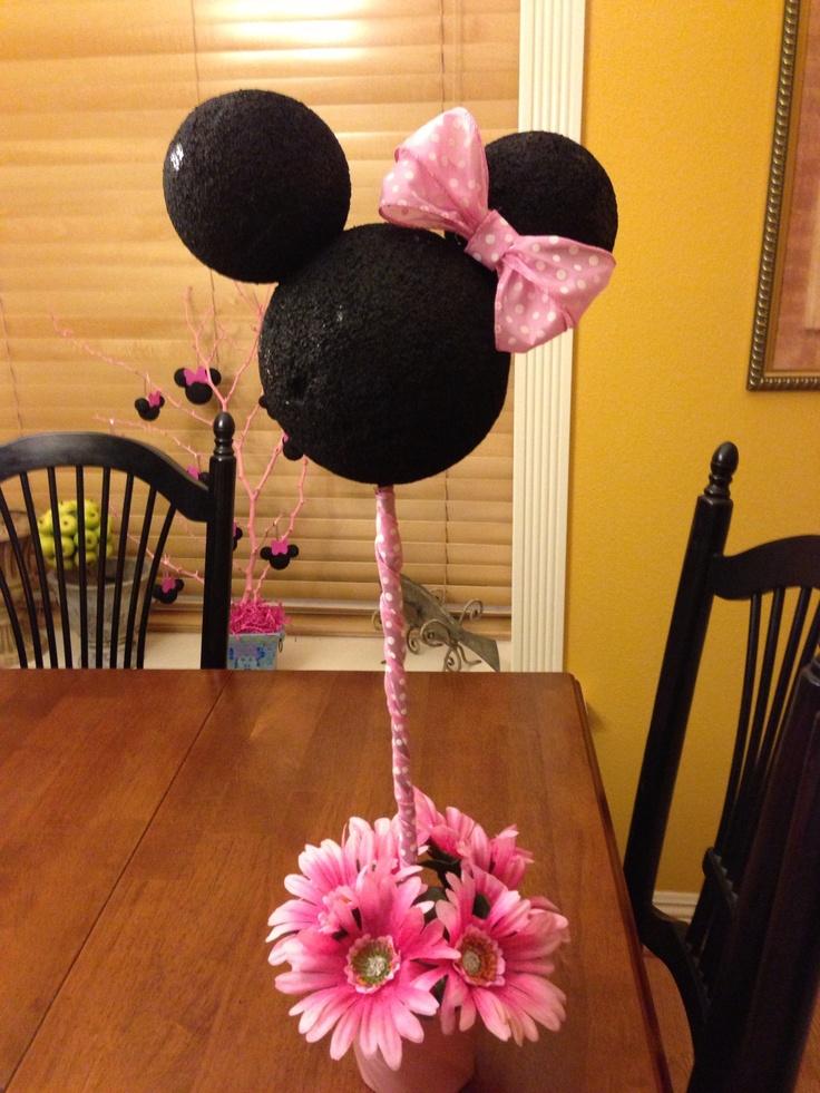 Minnie mouse centro de mesa ni os pinterest - Centros de mesa ...