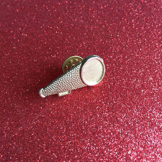 Vintage Cheerleading Megaphone Pin