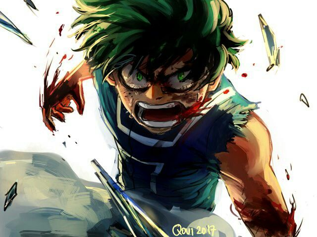 Midoriya In The Fight Vs Todoroki This Was Too Epic Heroe My Hero Academia Arte De Naruto