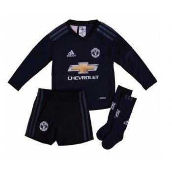 Manchester United Målvakt David de Gea 1 kläder Barn 17-18 Hemmatröja Långärmad  #Billiga #fotbollströjor