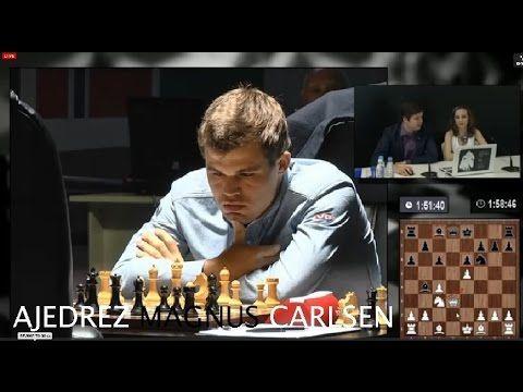 AJEDREZ - Campeonato mundial Ajedrez 2014 (SEXTA PARTIDA) Carlsen Anand ...