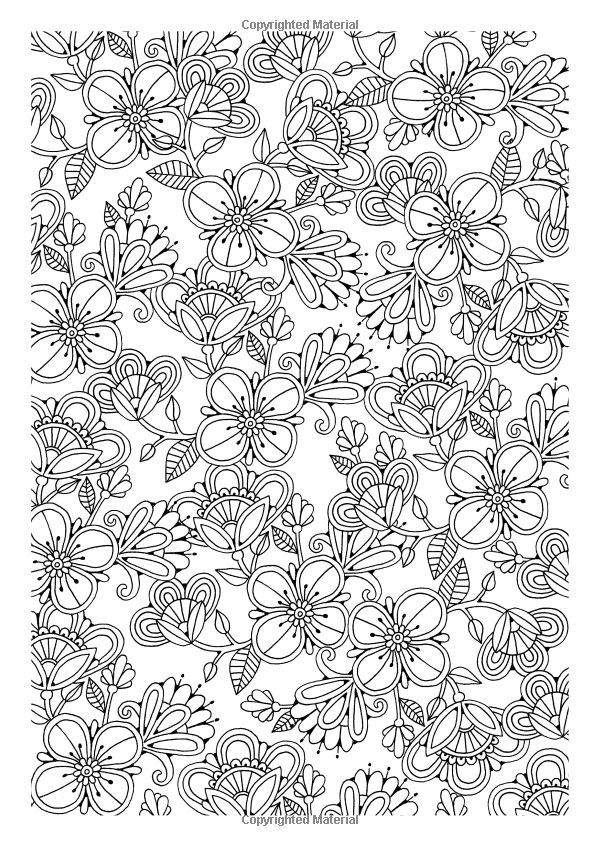 1179 Best Images About Adult ColouringFlowers On