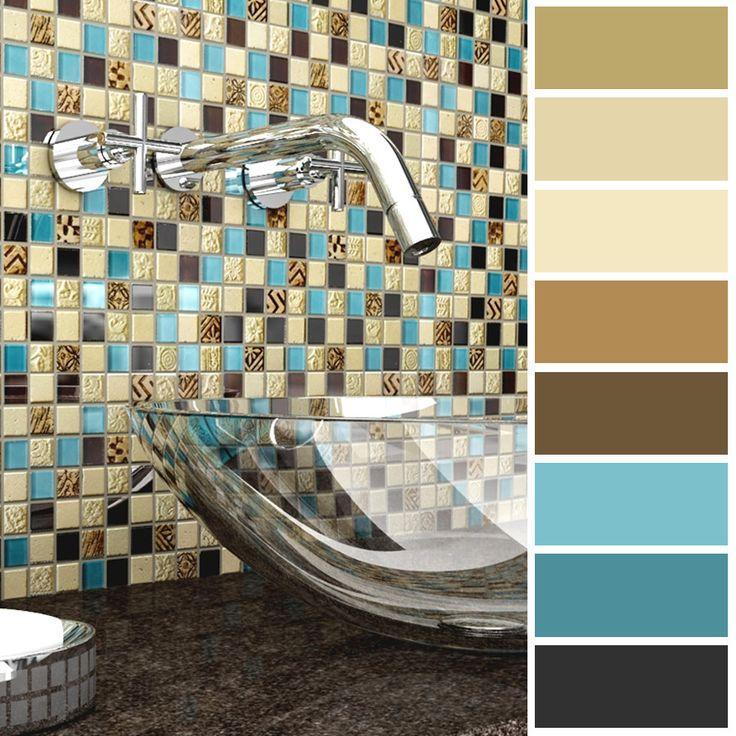 Las tonalidades amarillas son perfectas para usar en la cocina o baño, ya que estimulan el apetito o iluminan el espacio.