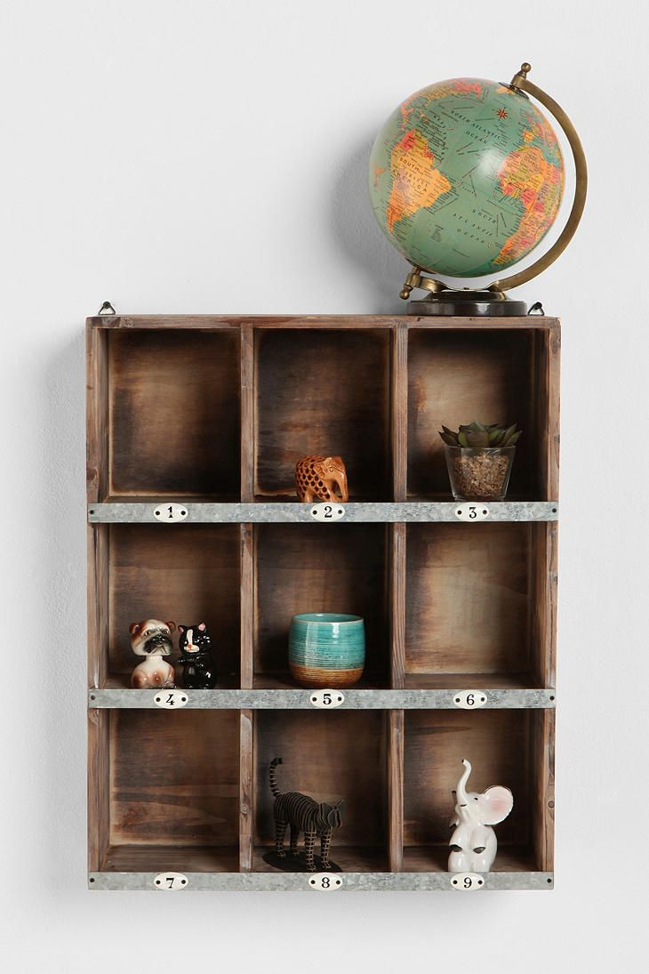 Little Boxes Wall Organizer