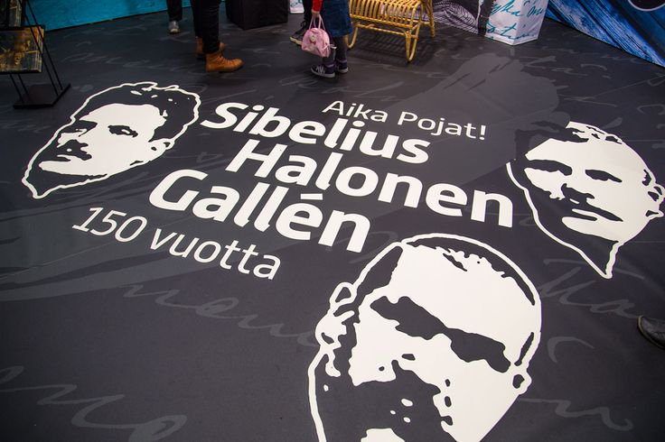 Sibelius, Halonen, Gallen 150v - fair stand.  Intro Design.