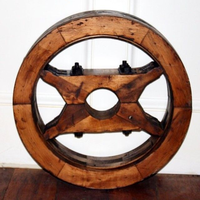 Lineshaftpulley Woodpulley Antique Antiqueindustrial Vintage Vintageindustrial Industrial Interiordesign