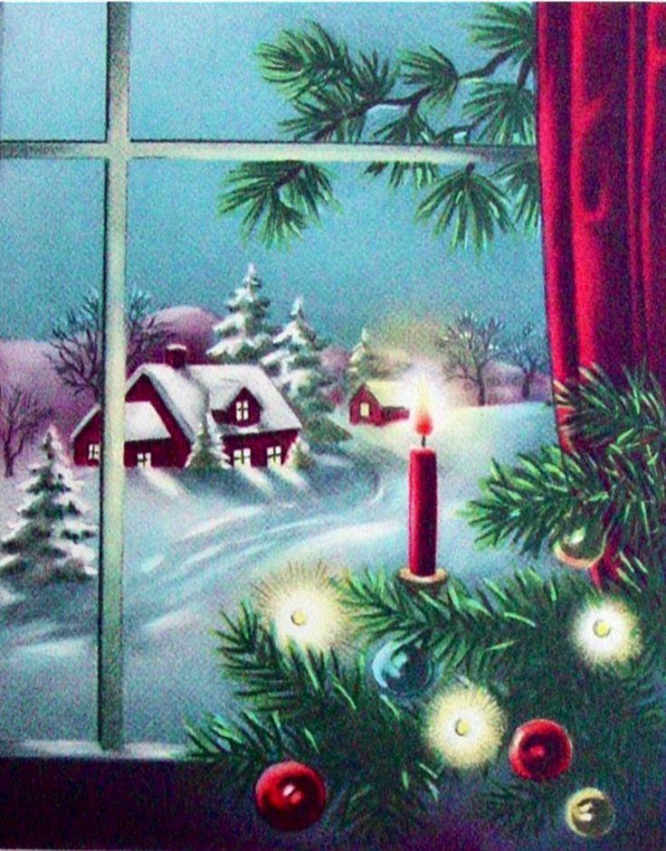 Lovely Christmas vista.