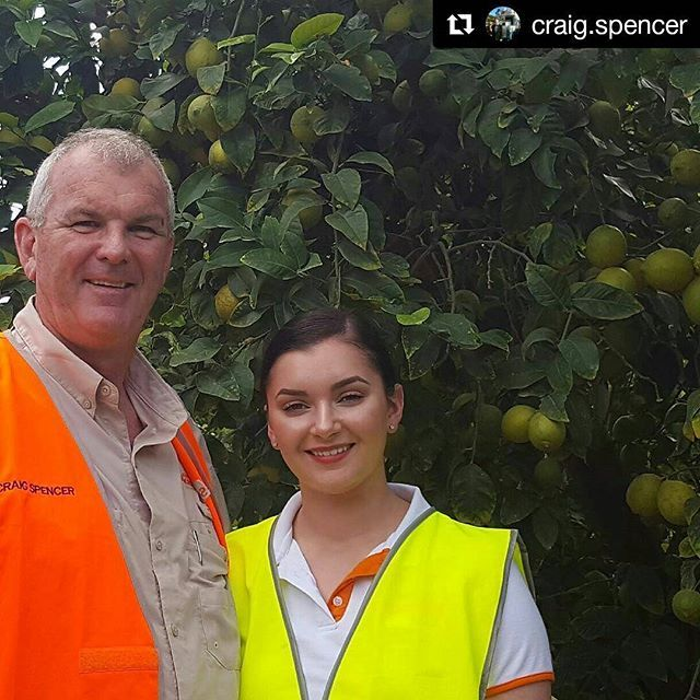 Craig Spencer and his daughter Lily were on farm at Spencer Ranch this week to see new season Imperial mandarins and lemons being picked and packed. #spencerranch #aussiefarming #citrus #citrusorchard  #freshproduce #healthyeating #lemons #mandarins #instafood #foodie #eats #wallaville #queensland