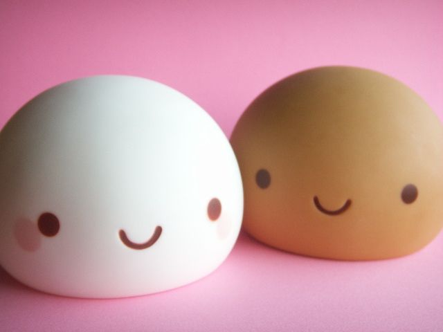 Kawaii Cute Onsen Manju Kun Coin Bank Japanese Sweets Toys by Kawaii Japan, via Flickr