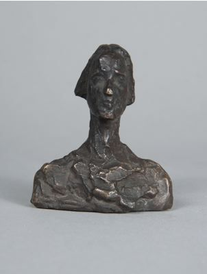 Alberto Giacometti, bust of Ottilia, 1937-39