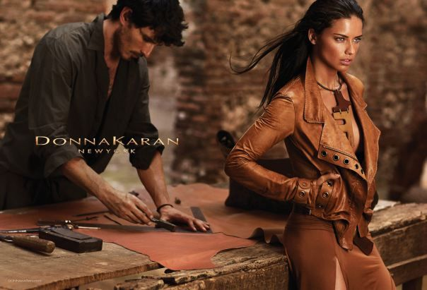 Adriana Lima By Russell James For Donna Karan Spring/Summer 2014 Campaign - 3 Sensual Fashion Editorials | Art Exhibits - Anne of Carversvil...
