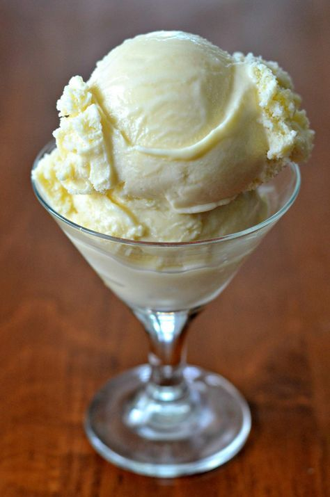 Just in time for National Ice Cream Month (July) - my recipe for Homemade Vanilla Ice Cream.