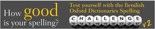 Spelling - Oxford Dictionaries Online