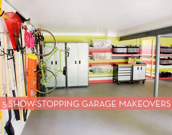 Awesome Monkey Bar Garage Storage