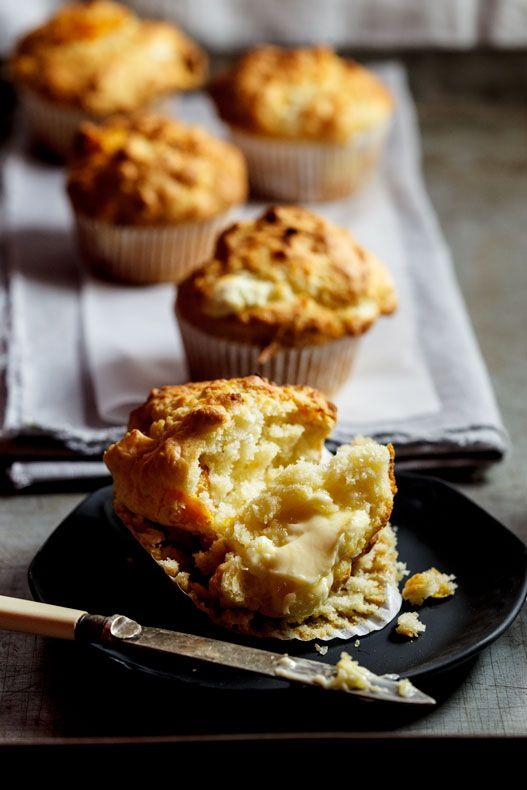 Pumpkin & Goat Cheese Muffins
