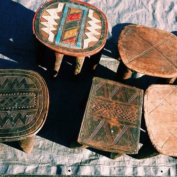 Moon To Moon Current Obsession Senufo Stools Ethnic Living Pinterest
