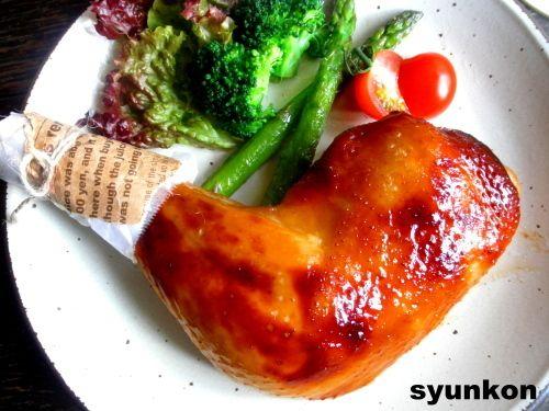 【簡単!!】クリスマスに*照り照りローストチキン |山本ゆりオフィシャルブログ「含み笑いのカフェごはん『syunkon』」Powered by Ameba