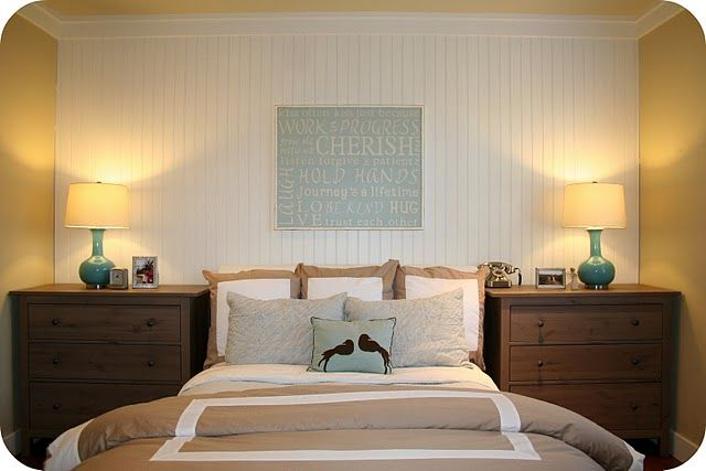 Gray-Blue / Khaki Master Bedroom: Small Bedrooms, Bedrooms Makeovers, Beachi Bedrooms, Accent Wall Bedrooms, Bedrooms Colors, Master Bedrooms, Bedrooms Art, Bedrooms Wall, Bedrooms Ideas