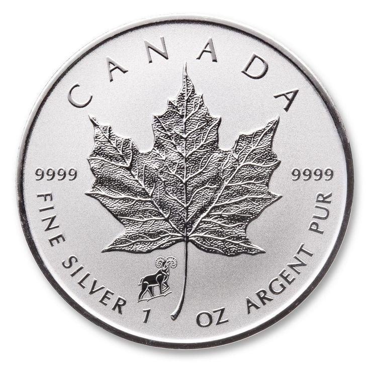 2015 Lunar Year of the Goat 1 oz Privy Silver Maple Leaf