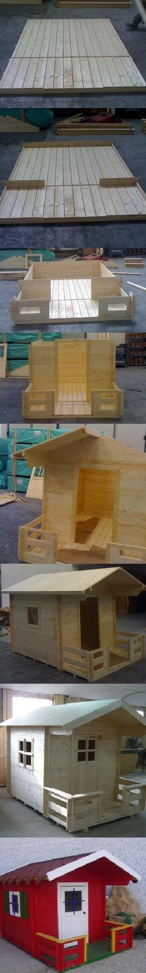 Casetta per bambini in legno (Fonte: http://www.gardendeco.it/casetta-per-bambini-in-legno.html)