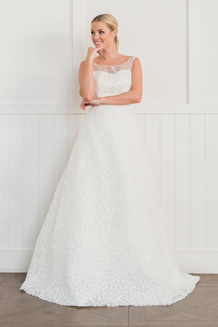 261 besten Wedding Dresses Bilder auf Pinterest   Augusta jones ...