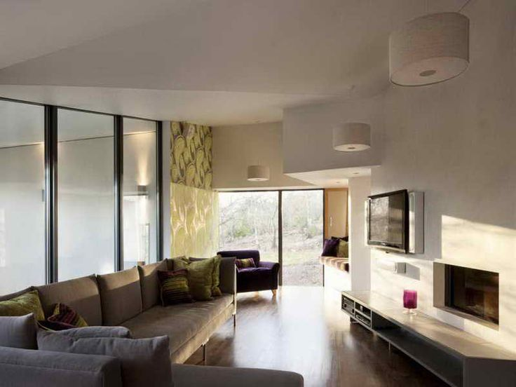 Modern Pool House Interior Design ~ http://lovelybuilding.com/the-