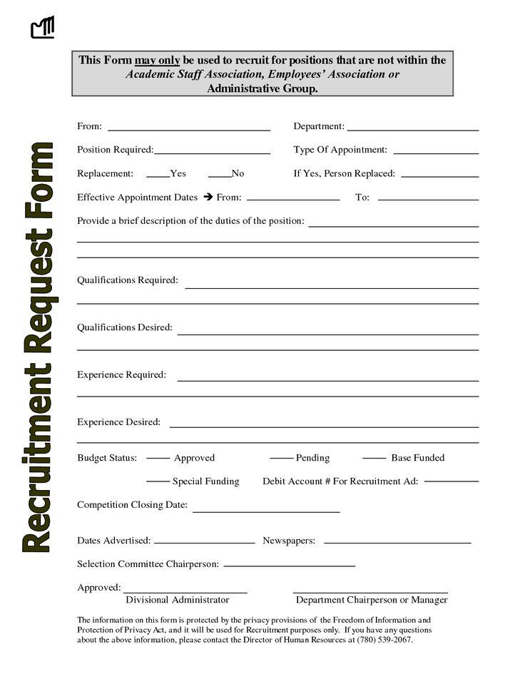 91 best Recruiter Forms images on Pinterest Templates, Job - budget memo templates