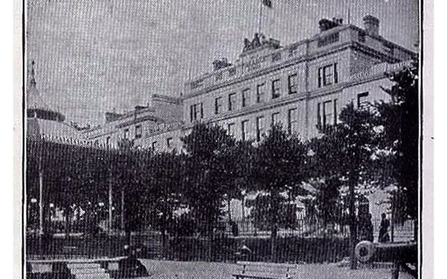 The Queens Hotel, in Queenstown...Now The Commodore Hotel, in Cobh, County Cork.