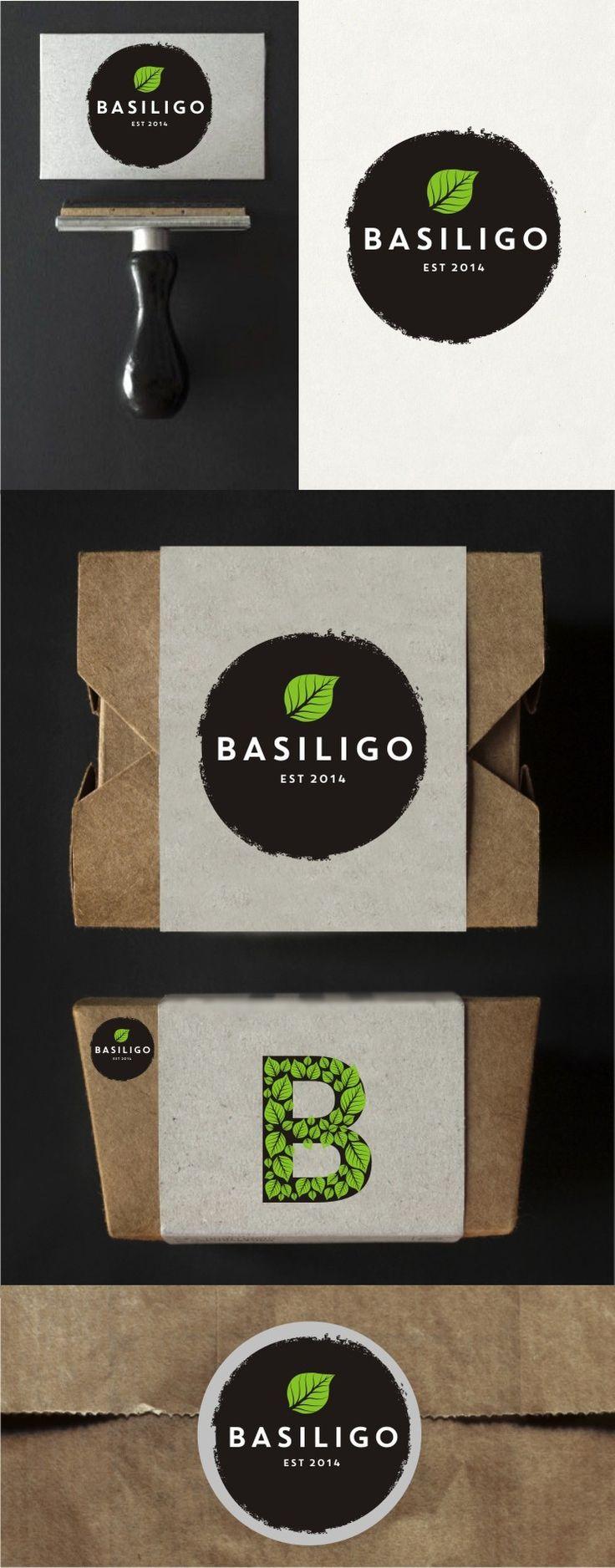 Create logo for gourmet food delivery startup company - Basiligo