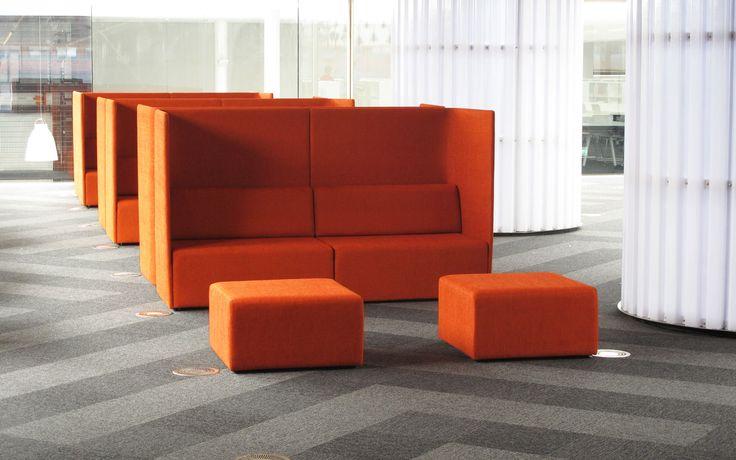 Foundation Sofa by Simon James  @ Victoria University Wellington