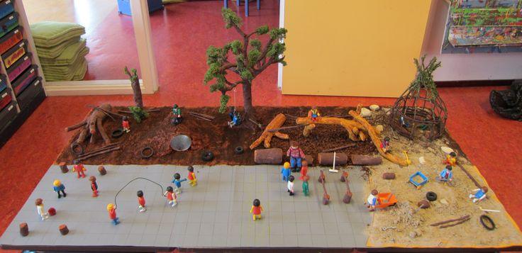 Samen spelen Speelplaats 01  verteltafel Nutsschool Maastricht